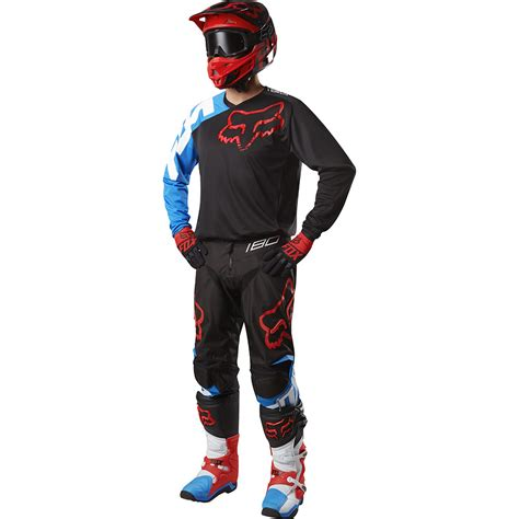 fox motocross gear for kids fox racing new mx 2017 le 180 sabbath blue black kids