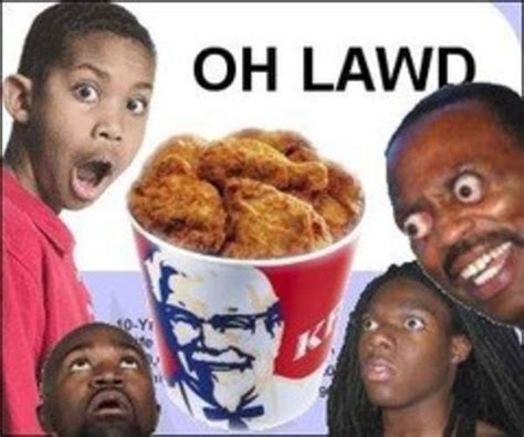 Kfc Bucket Meme - highly insulting memes and tweets that black people