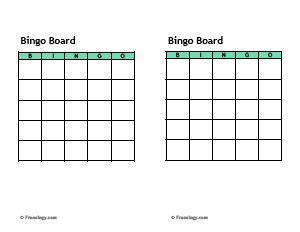 sle bingo card template bingo cards template eld class bingo