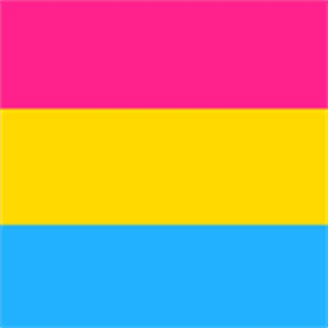 pansexual fabric wallpaper gift wrap spoonflower