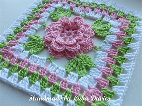 flower pattern granny square flower in granny square