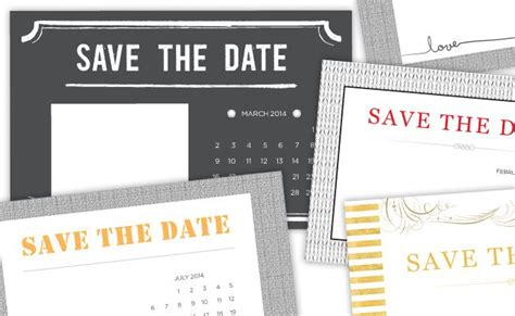 diy save the date magnets template 4 printable diy save the date templates the o jays