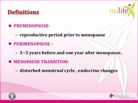 menopause and perimenopause overview slideshow nulife module 2 menopause basics edited