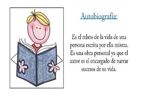 libro 14 la autobiografa blog de espa 241 ol intermedia 8vo tema 1 la autobiografia