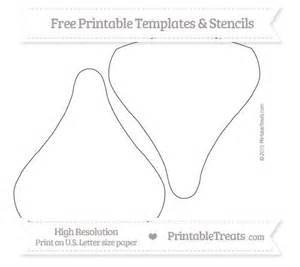 hershey template free printable large chocolate template shapes and