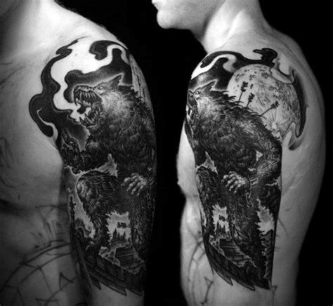 werewolf tattoos for men 784 best images about on