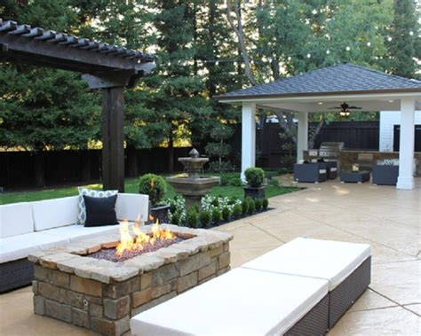 modern fire pit in your garden fire pit design ideas