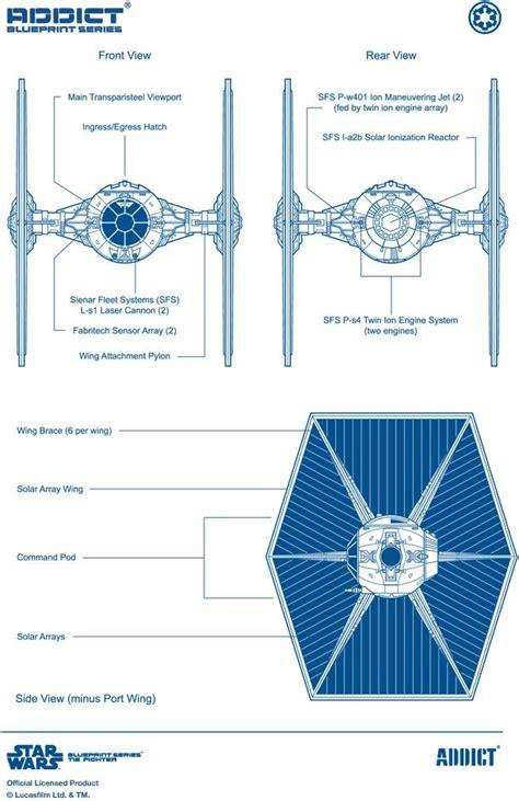 tie fighter blueprint the frontier