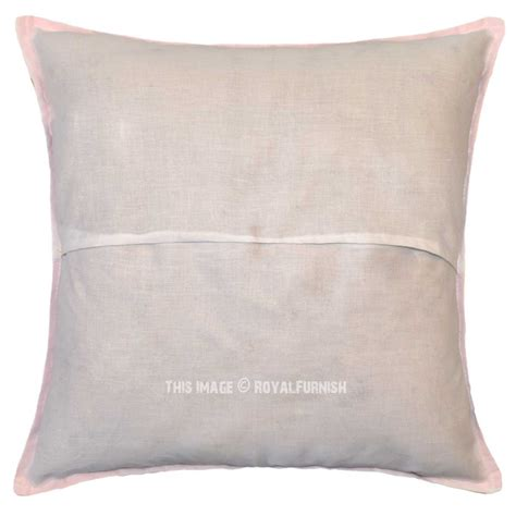 pillow covers for living room 16 quot pink cotton pillow cut work pillow bedroom and living room pillow cover royalfurnish