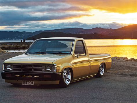 nissan hardbody lowered nissan hardbody mini truck