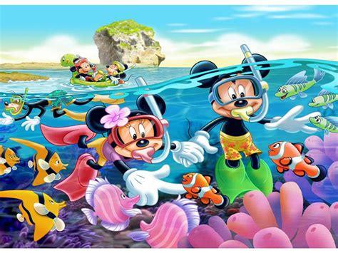 mickey mouse  mini underwater adventure diving hd wallpaper  wallpaperscom