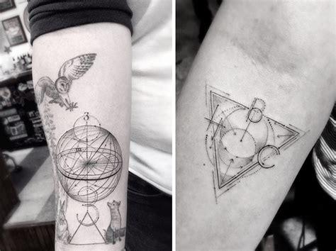geometric tattoo artist los angeles geometric fine line tattoos by los angeles famous tattoo
