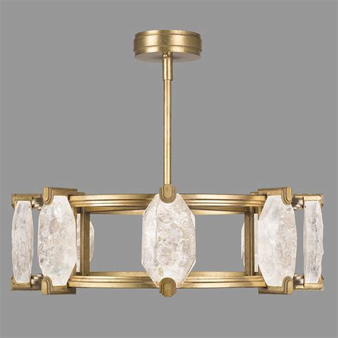 Modern Gold Chandelier Ls 872840 2st Allison Paladino Contemporary