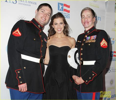 And Mayer Up For by Mayer Allison Williams Stand Up For Heroes Event