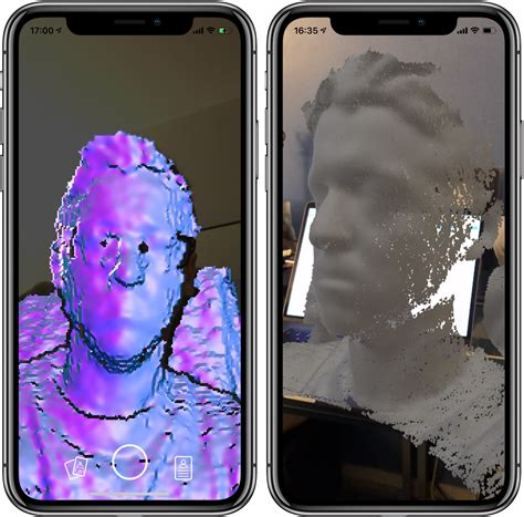 avec quot capture quot l iphone x xr ou xs permettent de scanner un visage en 3d