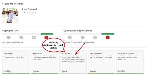 adsense youtube setup complete guide to create youtube channel google adsense