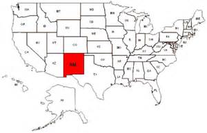 maps us map new mexico