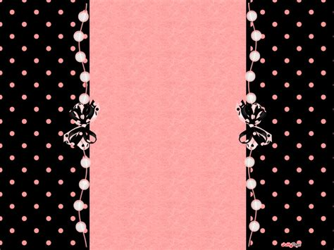 pink polka dots blogger layout template blog background