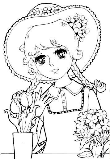japanese zero coloring page vintage japanese coloring book 8 anime shojo coloring