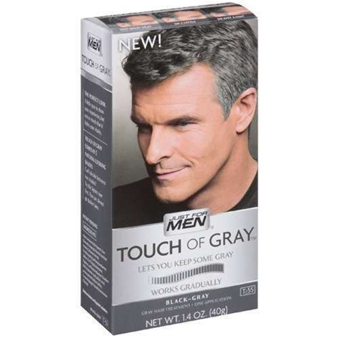 touch of grey hair color just for touch of gray hair color brown gray