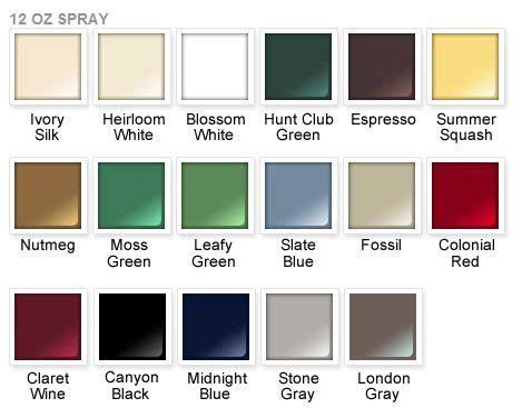 rustoleum color chart rust oleum 2x paint color chart rust oleum ultra cover