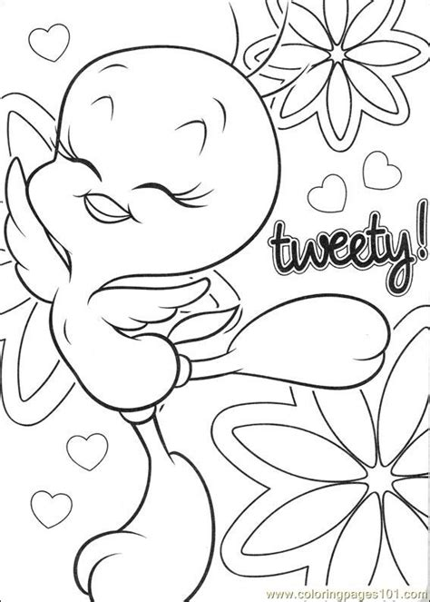 tweety 62 coloring page free tweety bird coloring pages