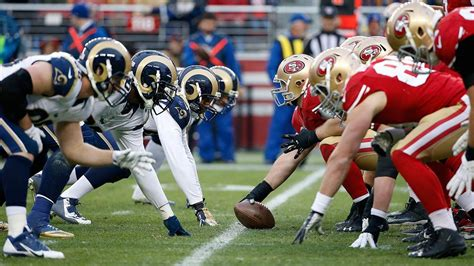 rams and 49ers la rams to battle san francisco 49ers in week 1 abc7