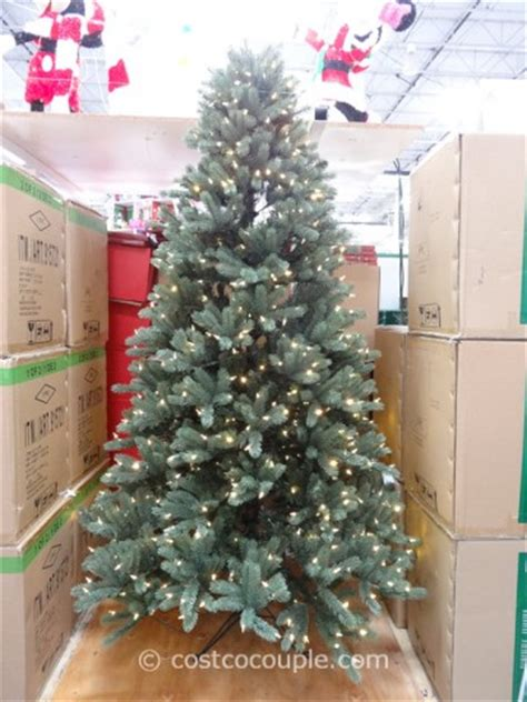 costco xmas trees ez connect 7 5ft prelit led tree