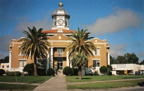 Citrus County Court Records Search Florida Memory The Courthouse Inverness Florida