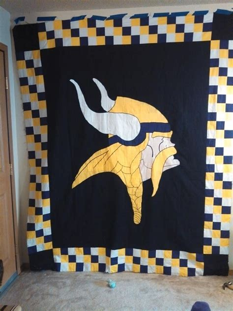 Patchwork Quilt Minneapolis - 17 best images about skol vikings on football