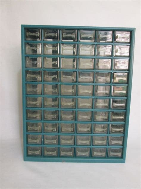 steel drawer cabinet with 60 bin trays the world s catalog of ideas