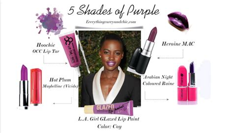 Purple Craze Fall 2007 Trend by 5 Shades Of Purple For Of Color Everything Curvy