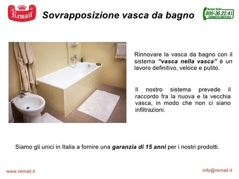 remail una vasca sovrapposizione vasca remail vasca nella vasca