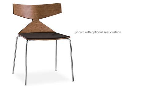 Saya Chair With Metal Legs   hivemodern.com