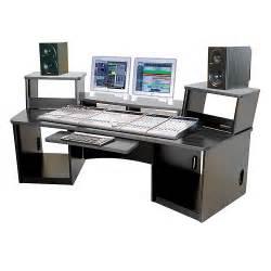 omnirax 36 audio workstation black musician