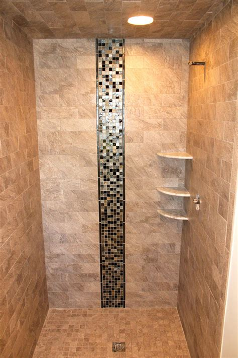 Bathroom Showers Ideas Pictures Porcelain Tile With Oceanside Glass New Jersey Custom Tile