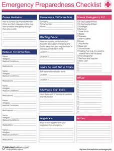 emergency response checklist template how to prepare for severe winter weather lsss emergencykits