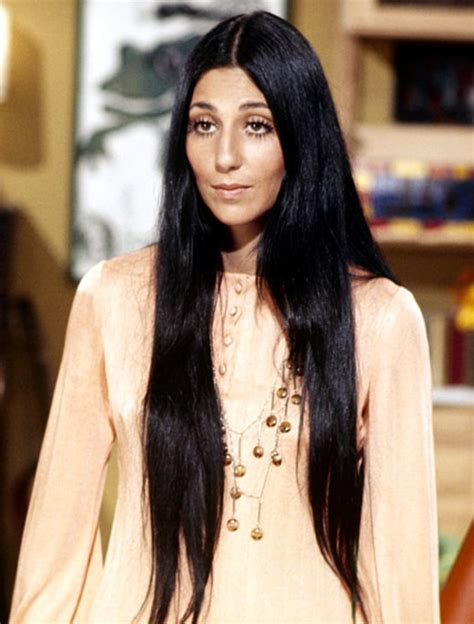 Cher Hairstyles by Cher 25 Most Iconic Hairstyles Of All Time Us Weekly