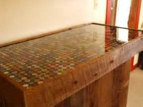 Polyurethane Bar Top by How To Do Bottle Cap Tables And Bartops With Pourable Epoxy