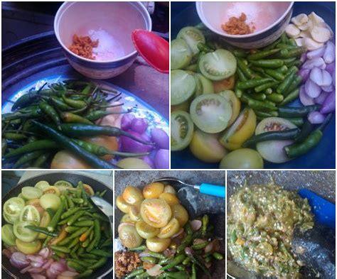 cara membuat nasi kuning sabah sambal ijo padang resep masakan resepi masakan melayu