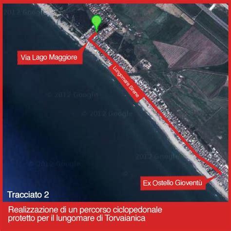 port royal torvaianica pista ciclabile a torvaianica ecco il percorso