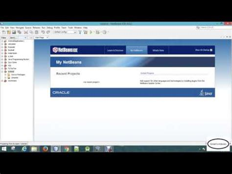 tutorial java netbeans jframe java tutorial 01 new project in netbeans and using