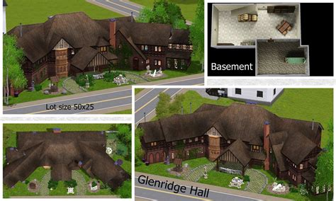 mod the sims glenridge hall the mansion from tv series the mod the sims glenridge hall the mansion from tv series