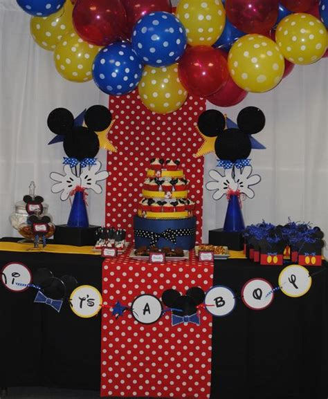 Mickey Mouse Baby Shower by 78 Best Ideas About Mickey Baby Showers On
