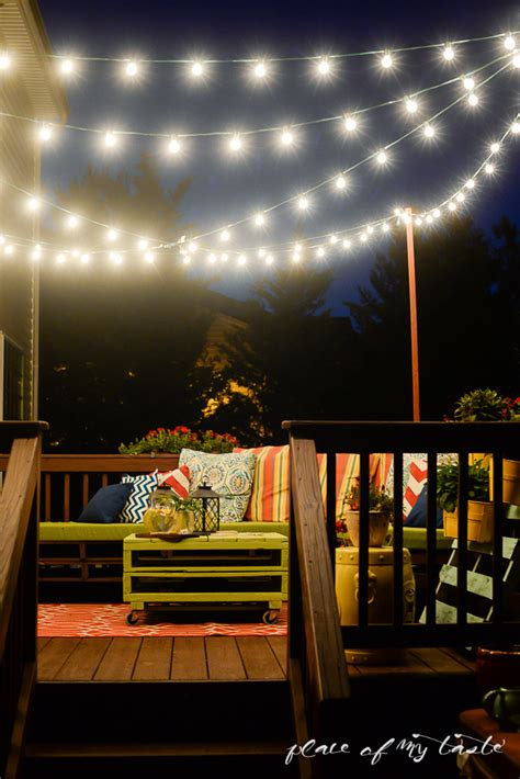 7 Creative Ways To Decorate With String Lights Porch Advice Deck Lights String
