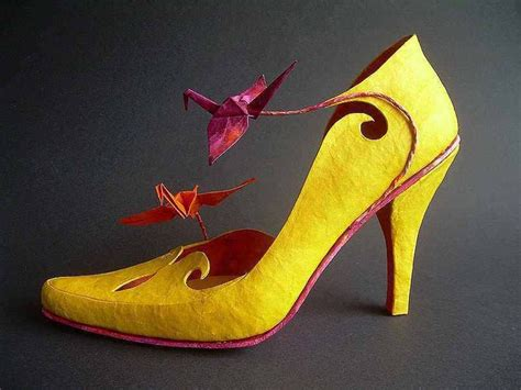 How To Make Shoes With Paper - paper mache shoes shoe