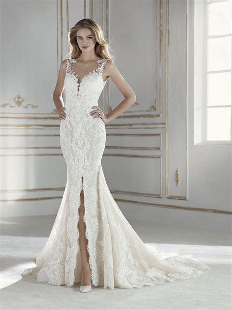 Imagenes De Vestidos De Novia Estilo Sirena | paris vestido de novia de corte sirena con escote en v y