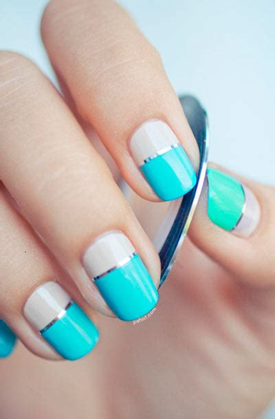 two color nail designs two color nail designs how you can do it at home