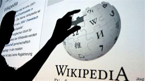 blogger wikipedia the economist explains who really runs wikipedia the