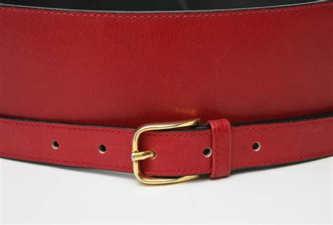 leather gucci wide waist belt saturday sale for sale